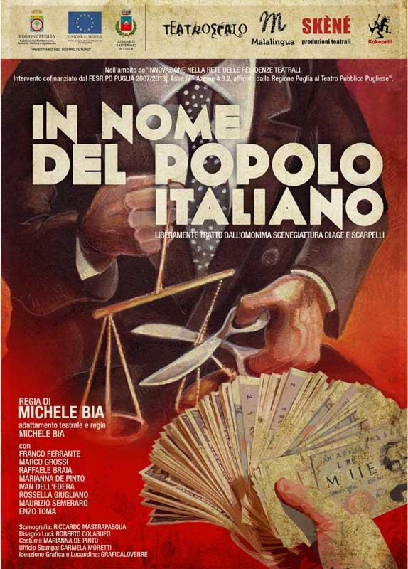 in nome del popolo italiano locandina